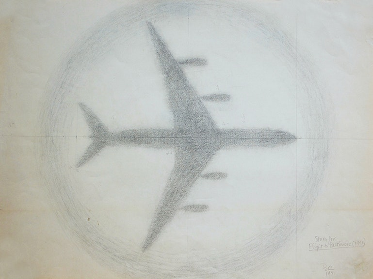 Study For Flight To Baltimore (1971)