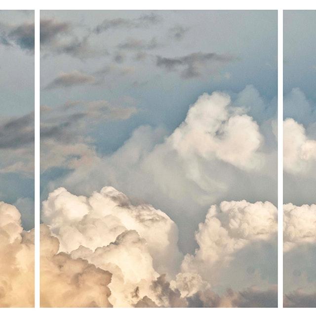 Cloud Study 19 (Triptych)