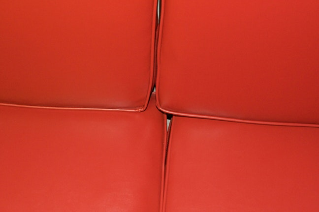 Untitled (Red Cushions)