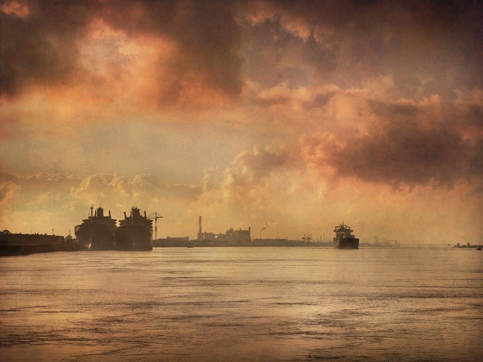 Mississippi River Dawn