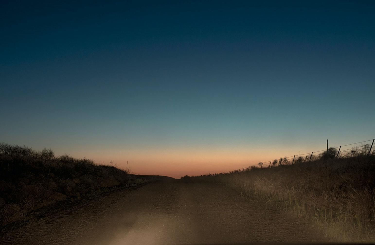 Night Road Oregon