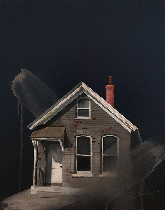 Untitled (Gray House)