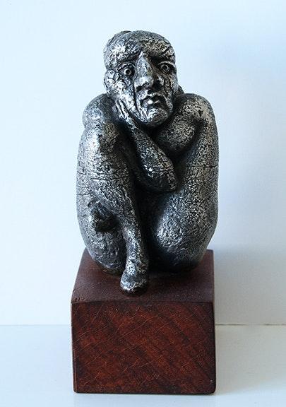 Untitled (sitting figure)