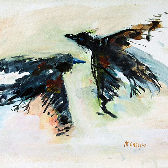 Untitled (Two Blackbirds)