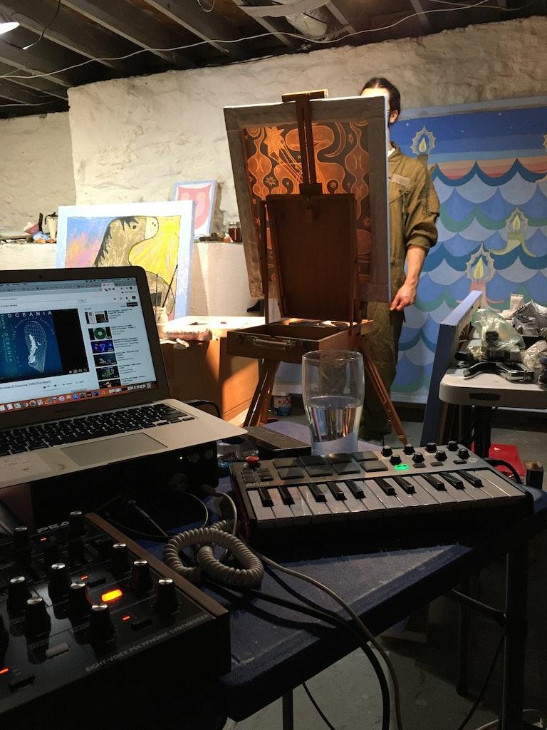 Studio activity with Eve