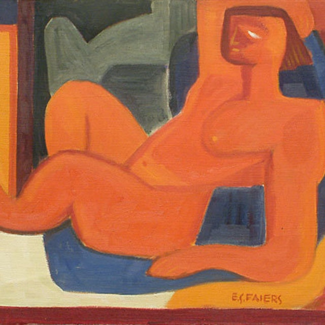 Reclining Red Figure