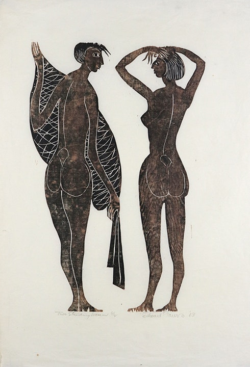Two Standing Women