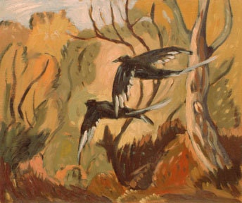 Two Magpies