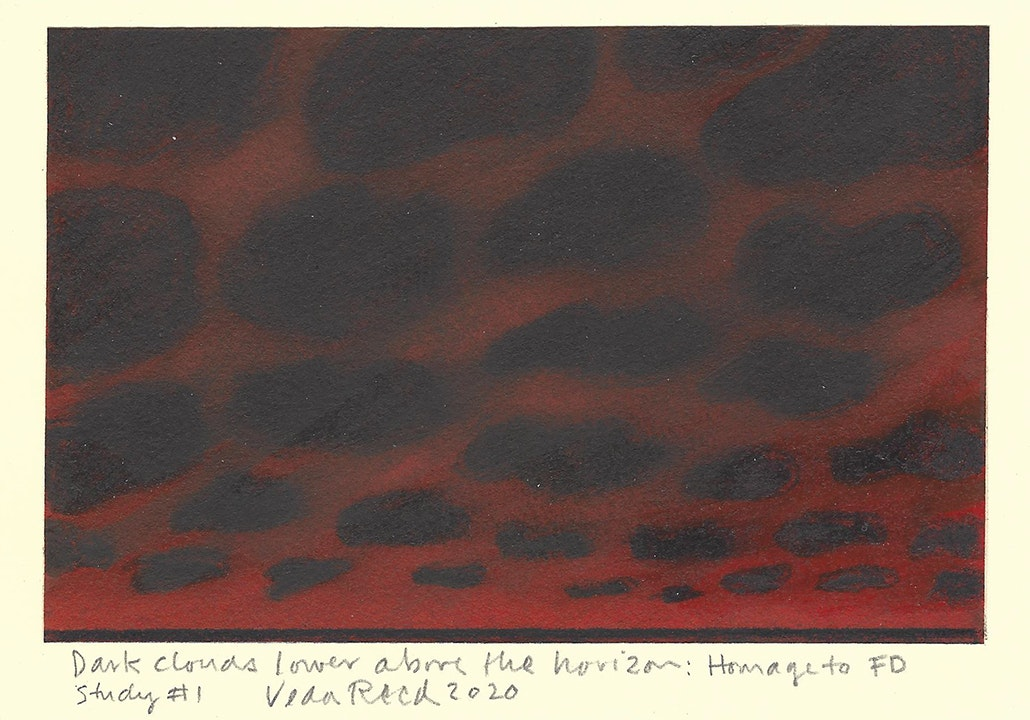 Dark Clouds Lower Above the Horizon: Homage to FD Study #1