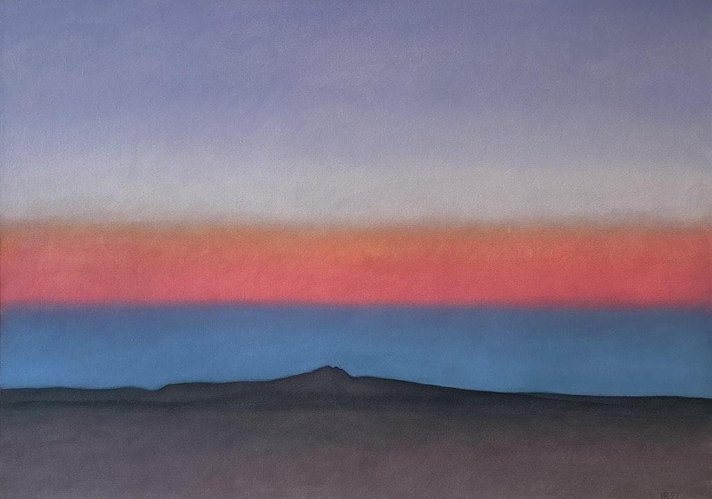 Taos Mountain Sky: 6-17-97