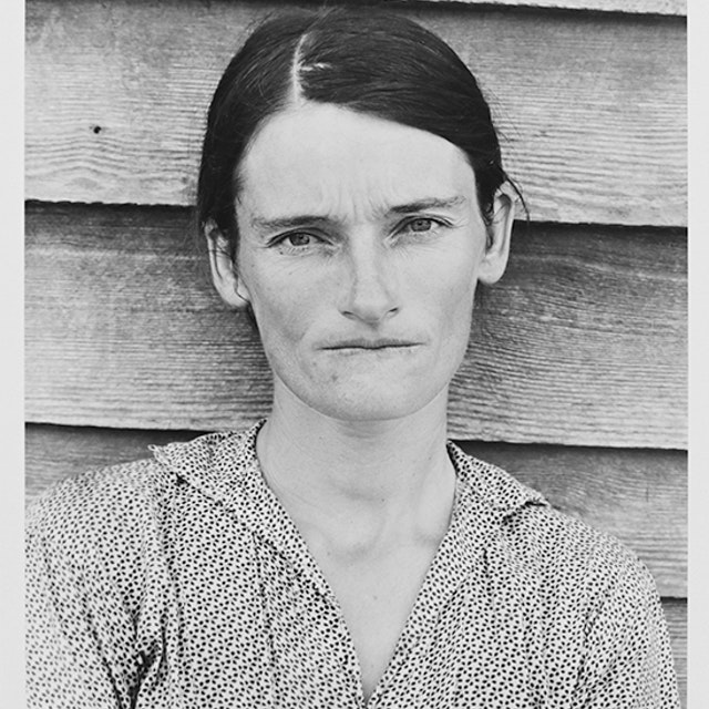 Allie Mae Burroughs, Wife of a Cotton Sharecropper, Hale County, Alabama 1936