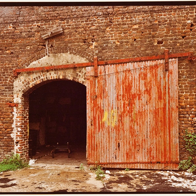 Untitled (Door, Cotton Warehouse, Selma)