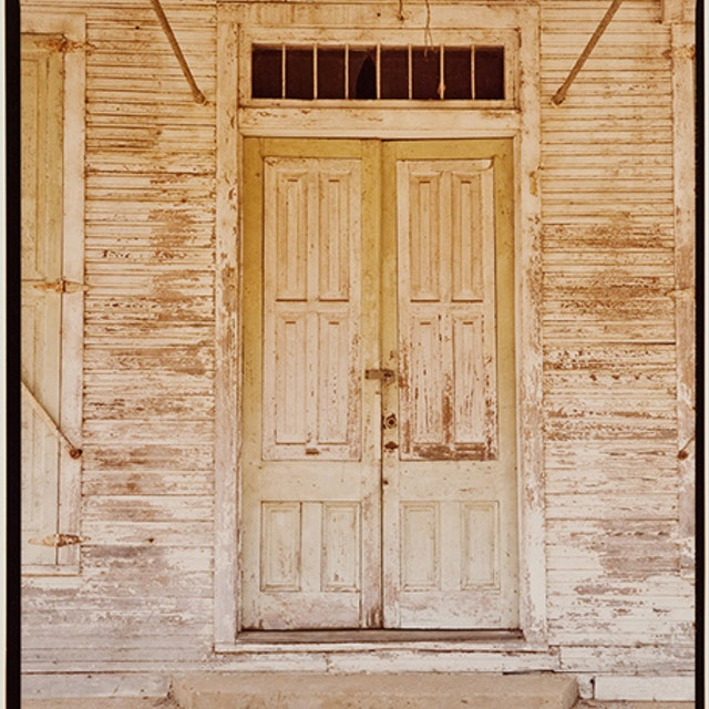 Untitled (Doors, White Building, Newbern)