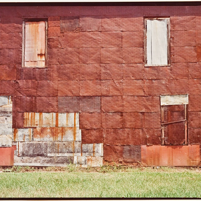 Untitled (Side of Warehouse, Newbern)