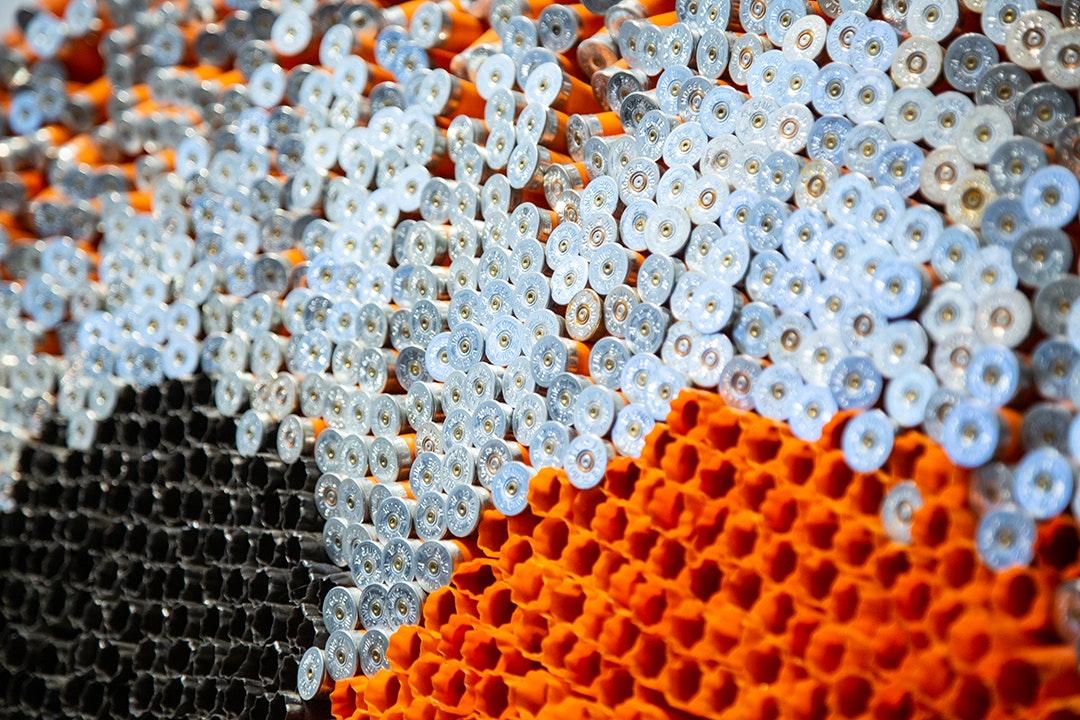 Dot Story (Orange) (detail 1)