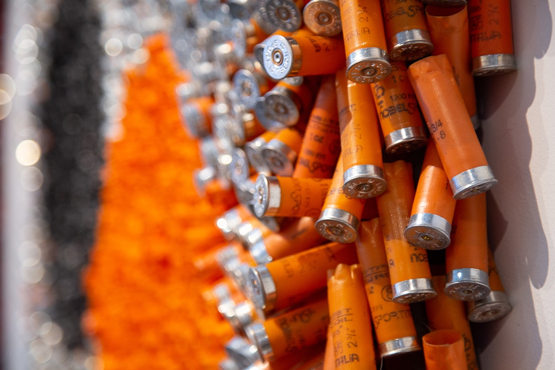 Dot Story (Orange) (detail 2)