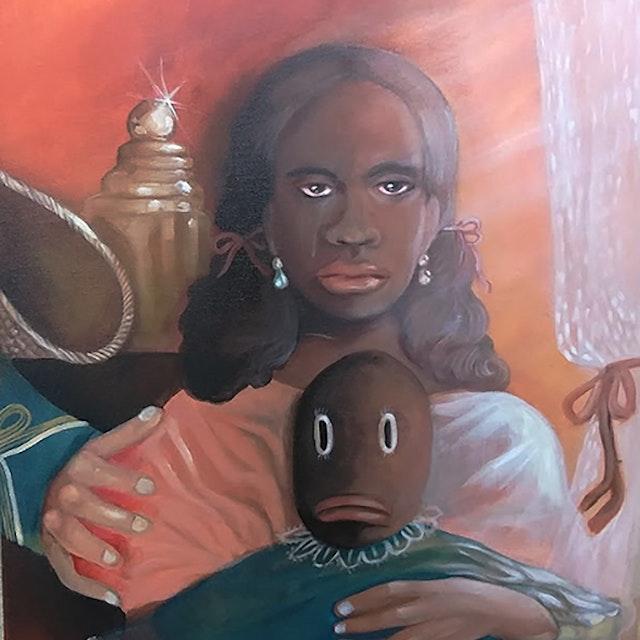 Kept Black Girl (Pallor Tastes)