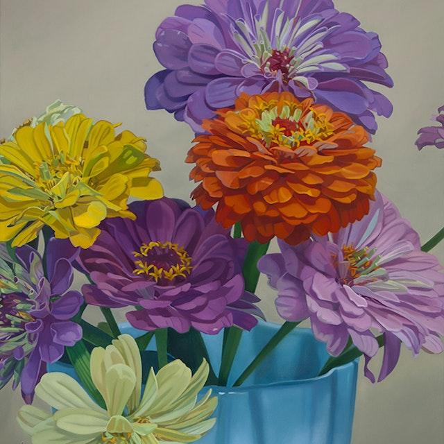 Be flowers in vase i 10