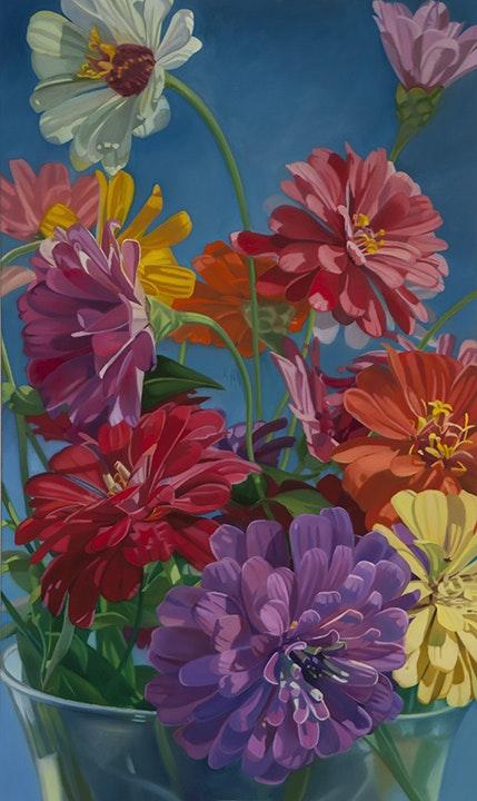 Flowers in Vase IV