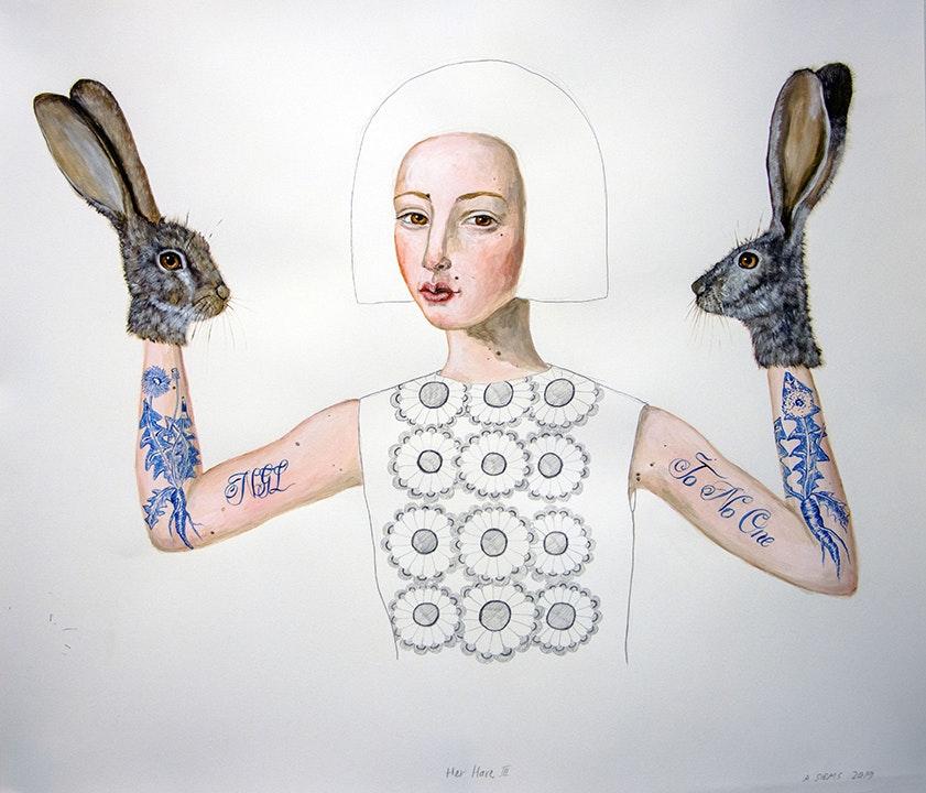 ANNE SIEMS Her Hare III