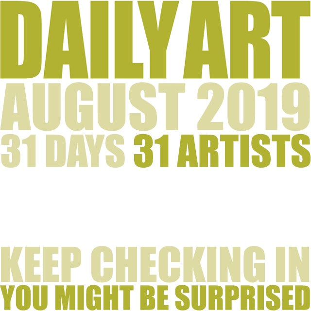 Dailyart 2019 exhibition card