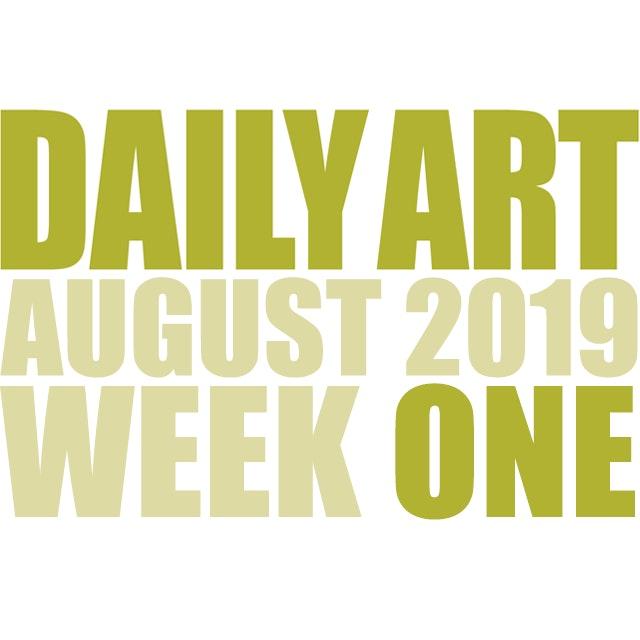 Dailyart 2019 week 01