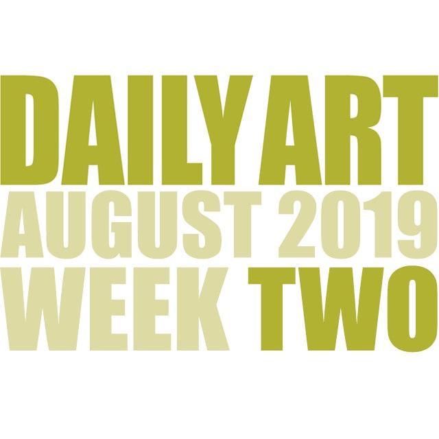 Dailyart 2019 week 02