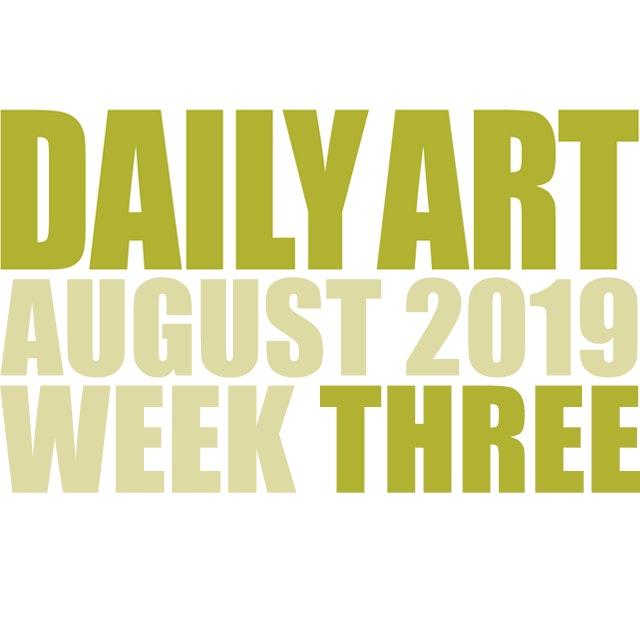 Dailyart 2019 week 03