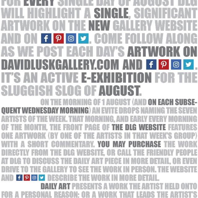 Dlg Dailyart Exhibition Card