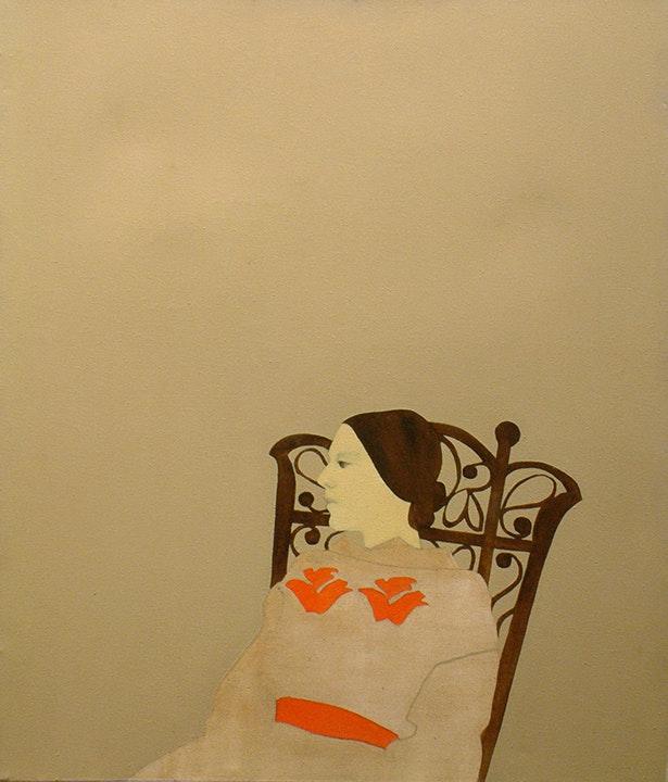 Untitled: Lady in Wicker