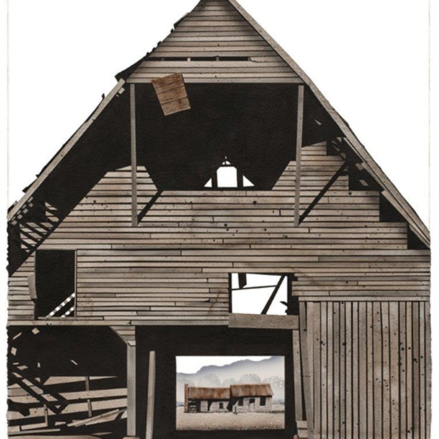 Williamson County Barn with Weathervane