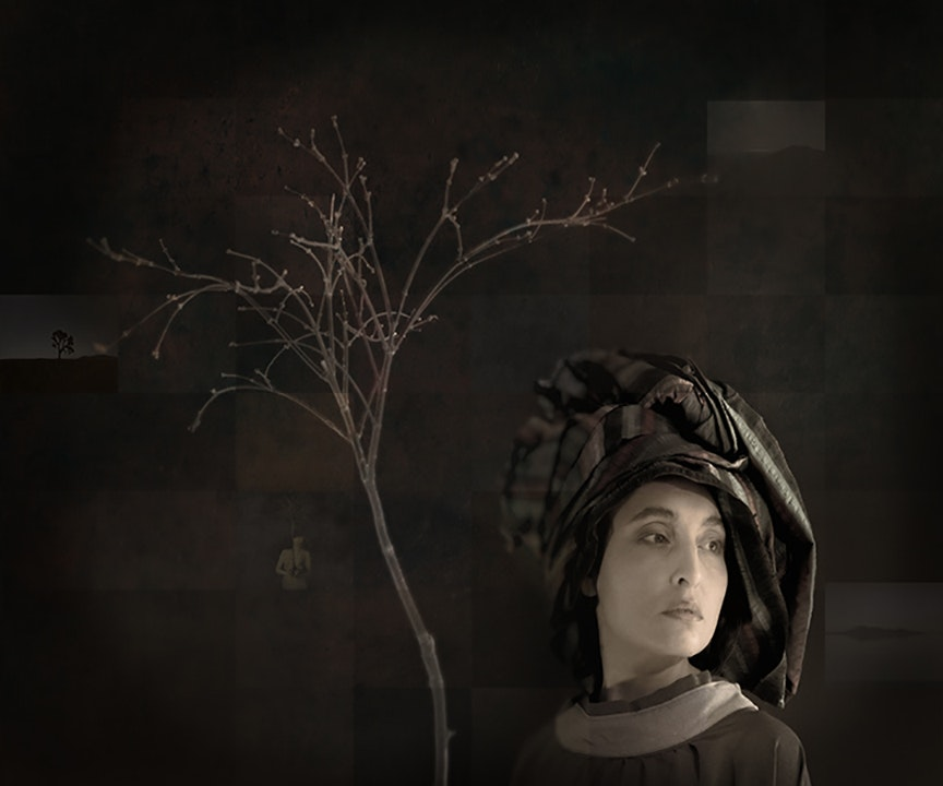 Girl with Japanese Maple