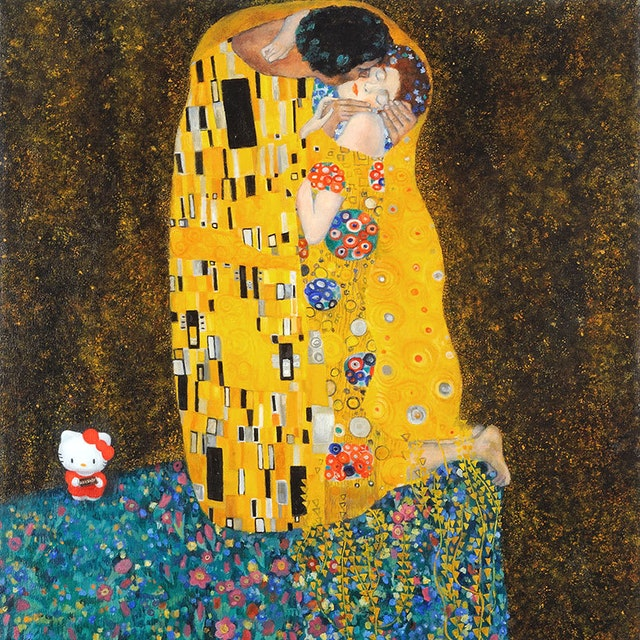 Lh Hello Klimt Say It With Chocolate Small