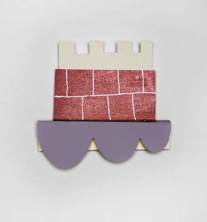 TIM CROWDER: Small Paper and Wood Project 5