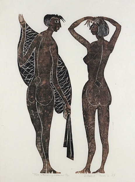 Two Standing Women