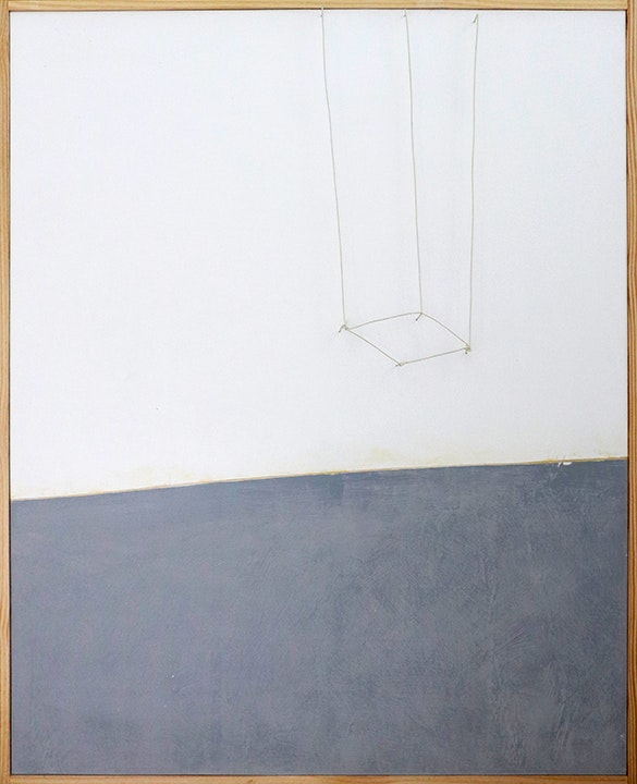 Wire Painting (Upside Down Box)