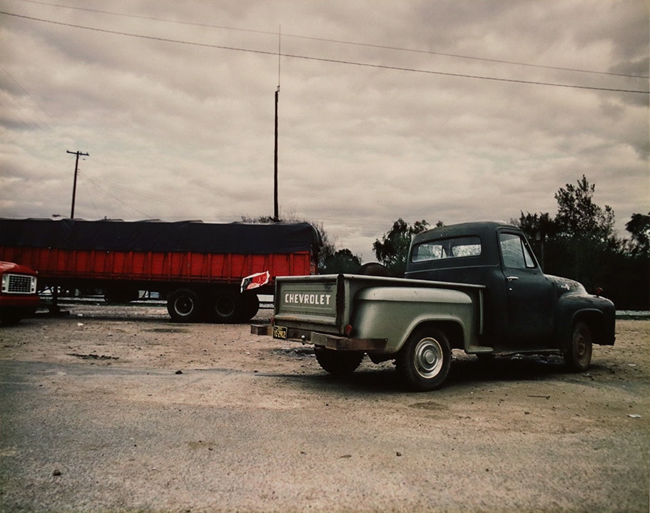 For Lucia, Series (green truck)